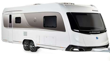 Futuristic Concept Caravans - This Knaus Tabbert Creation Uses the Latest Construction Technology