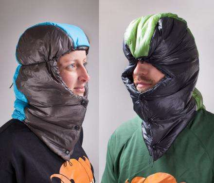 Sleeping Bag Hoods - This Sleeping Bag Balaclava is the Ultimate Camping Head Warmer