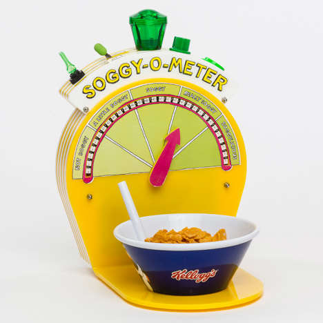 Playful Breakfast Gadgets - Kellogg's and Dominic Wilcox Created Inventions to Improve Morning Meals