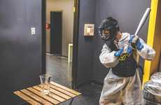 Toronto's 'Rage Room' Provides a Novelty Experience in Smashing Things