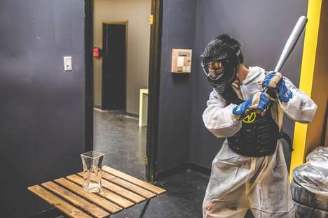 Stress-Relieving Rage Rooms - Toronto's 'Rage Room' Provides a Novelty Experience in Smashing Things