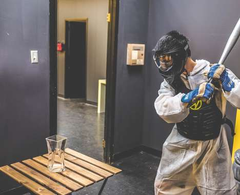Stress-Relieving Rage Rooms