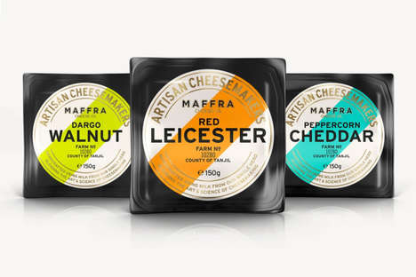 Heritage Cheddar Packaging - Maffra Cheese Company Produces Well-Packaged Gourmet Cheese