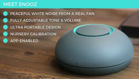 Sound-Conditioning Sleep Devices - The Snooz Lets You Subtly Drown Out Unwanted Noises