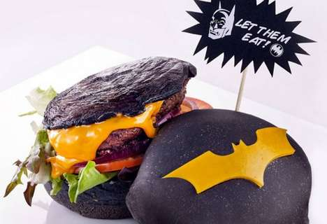 41 Edible Superhero Creations - From Superhero Burger Buns to Comic Superhero Cartoon Cookies