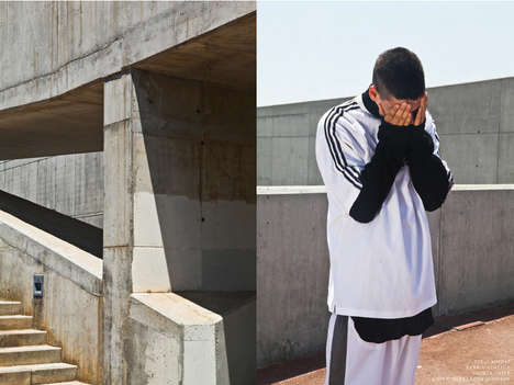 Ambiguous Urban Editorials - 'Few Of Us' Marries Urban Landscapes with Edgy Clothing Staples