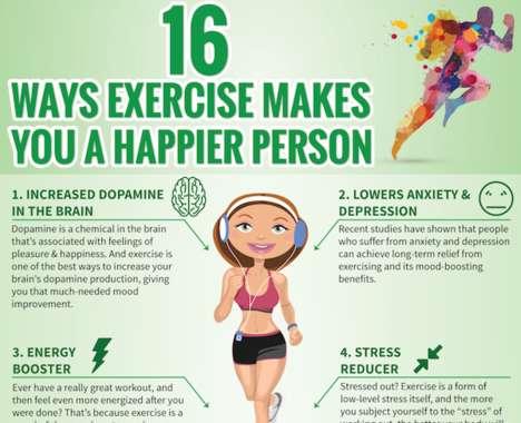 Mood-Boosting Fitness Charts