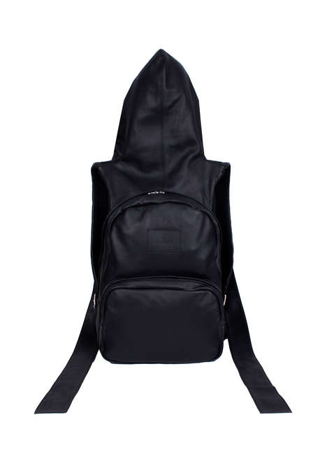 High-End Hoodie Backpacks - Hood By Air's Backpack Features a Street-Inspired Variation on a Classic
