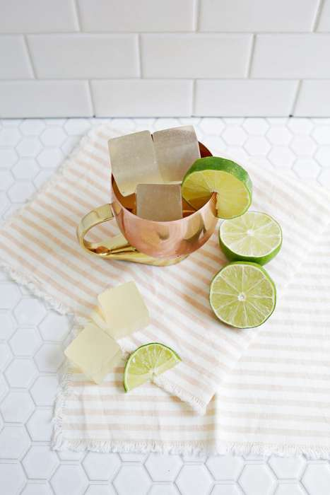 Spicy Cocktail Shooters - This Moscow Mule Jell-O Shot is Ideal for Fans of the Classic Beverage