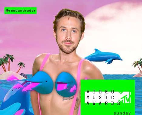 Superimposed Celebrity Mashups