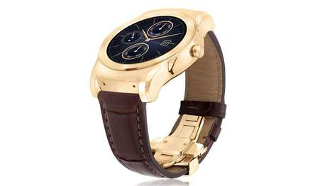 23-Karat Watches - The LG Watch Urbane Luxe is Sheathed In a 23-Karat Gold Case