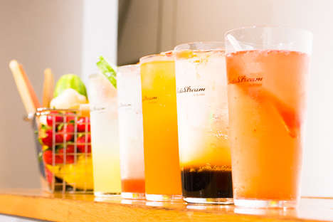 Sparkling Water Pop-Ups - Tokyo's SodaStream Pop-Up Serves Up Healthy Carbonated Beverages