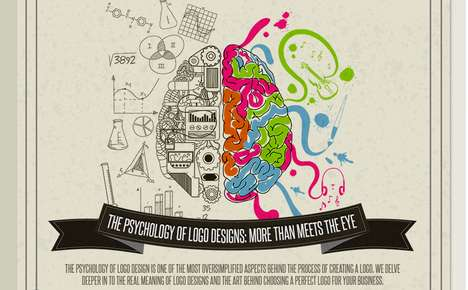 Logo Design Infographics - This Colorful Infographic Explains the Psychology Behind Logos