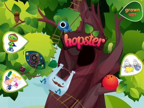 Educational Streaming Networks - Hopster Provides Educational Programming and Gaming for Kids