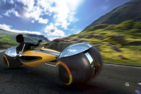 Recreational Autonomous Motorcycles - 'Chance' is a Concept Motorcycle Designed for Hobbyists
