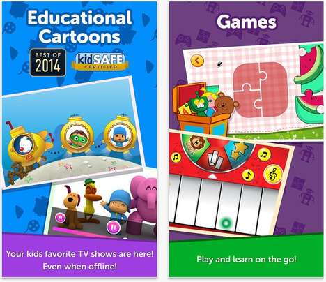 Kid-Focused Gaming Apps - PlayKids Encourages Educational Gaming That is Both Fun and Interactive