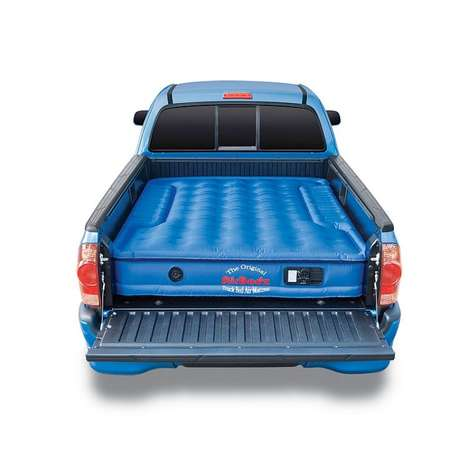 Truck Bed Air Mattresses - This Inflatable Air Mattress Turns Any Truck into a Mobile Camper