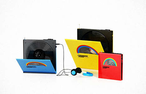 Portable Record Players - The 'Rawman 3000' Lets You Listen to Your Vinyl Records on the Go