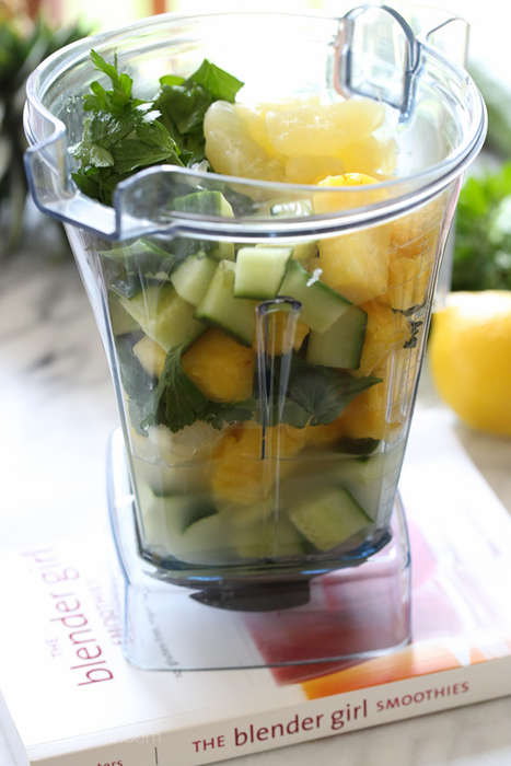 Citrusy Cucumber Smoothies - This Homemade Veggie Smoothie is Perfect for a Healthy Detoxing
