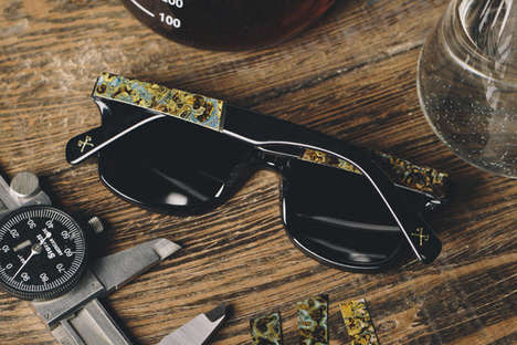 Oxidized Eyewear Frames - Shwood's 'Oxidized Collection' Lets Nature Create One-of-a-Kind Designs