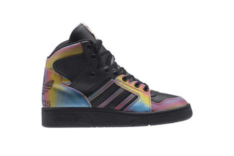 Multicolored Songstress Sneakers - These Rita Ora x Adidas Originals Line Features Colorful Kicks