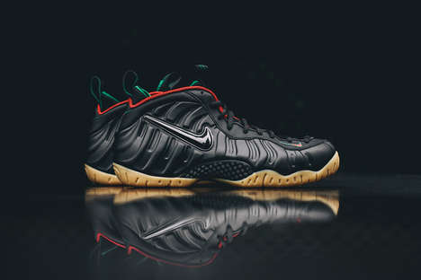 Fashion Label-Inspired Kicks - These Nike Gucci Foamposites Are Inspired by the Italian Label