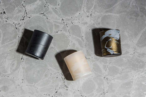 Wallpaper-Inspired Candles - This Collaboration Features Minimalistic Design Details and Textures