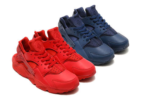Patriotic Sneaker Designs - These Nike Air Huaraches Celebrate American Independence Day