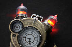 Steampunk Inventor Watches