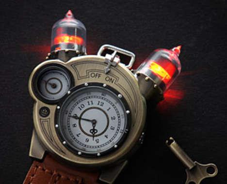 Steampunk Inventor Watches