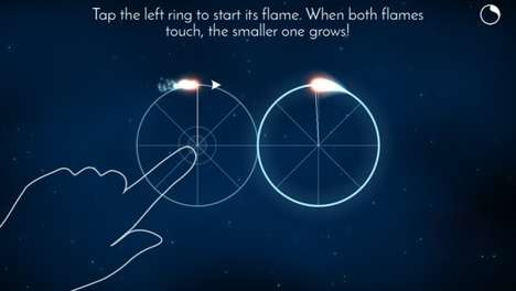 Timed Puzzle Apps - The Zirkel Gaming App Offers a Series of Games in a Celestial Setting