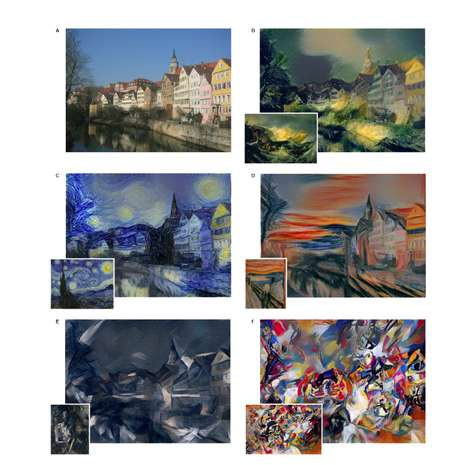 Painting-Replicating Algorithms - This Art Software Can Turns Pictures into Classic Masterpieces