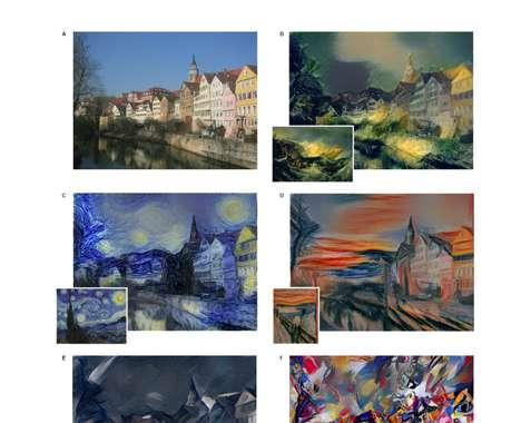 Painting-Replicating Algorithms