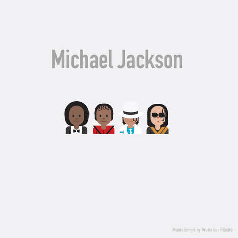 Musician-Inspired Emojis - Now You Can Use the Greatest Musicians in Recent History as Emojis