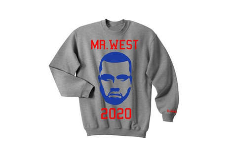 Presidential Rapper Apparel - Kanye West's Supporters Have Already Come Out with Campaign Gear