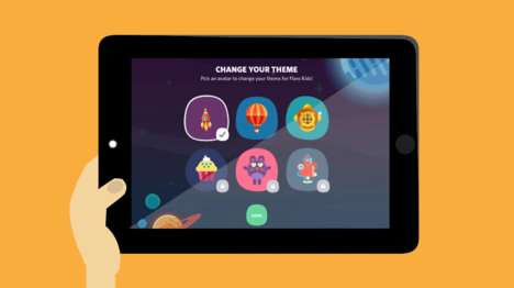 Kid-Tailored TV Apps - The Flare Kids App Streams an Assortment of TV for Children