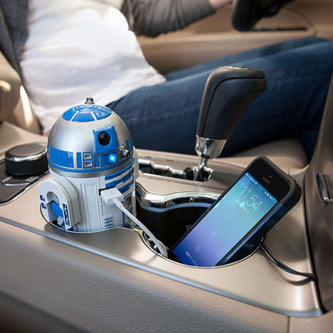 Intergalactic Car Chargers - This Star Wars-Inspired Car Charger Fuses Fandom with Functionality