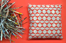 Upcycled Catalog Cushions