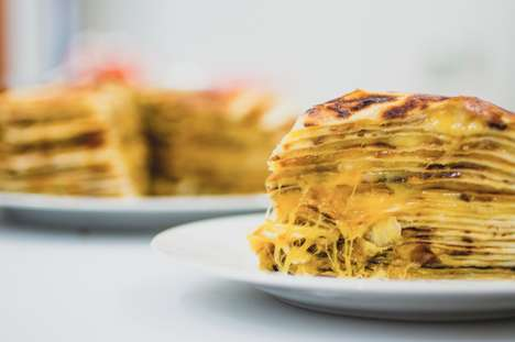 Cheesy Quesadilla Cakes - This Outrageous Dish Features Multiple Layers of Cheese and Tortillas