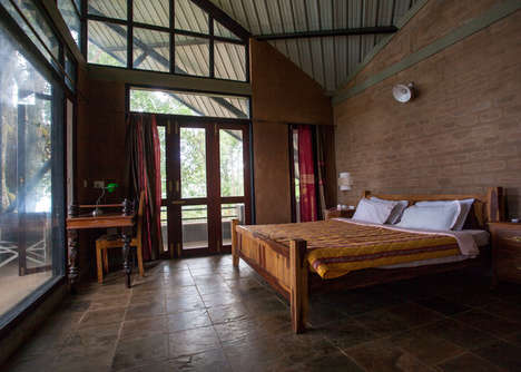 Secluded Vacation Chalets - This Holiday Home Overlooks a Tea Plantation