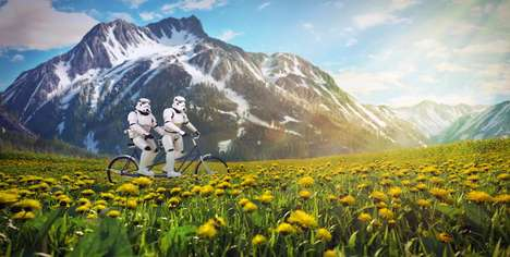 Sci-Fi Vacation Photos - Artist Kyle Hagey Imagines Star Wars Characters Away on Holiday