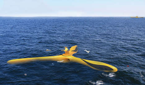 Ocean-Purifying Drones - This Smart Drone is Designed to Clean the Ocean Autonomously