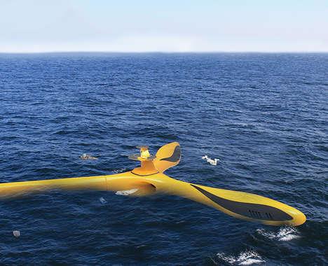 Ocean-Purifying Drones