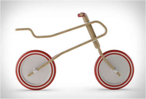 Eco-Friendly Children's Bikes - This Lightweight Balance Bicycle is Made to Grow with the Child