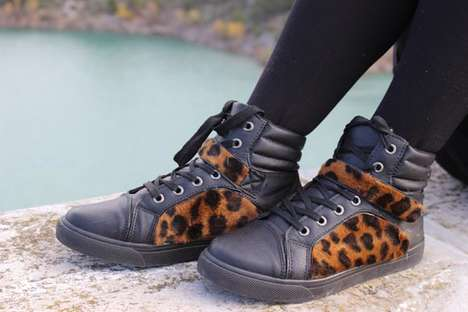 60 Examples of Animal Print Sneakers - From Classy Leopard Kicks to Savage Safari Sneakers