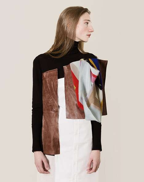 Abstract Art Apparel - Holzweiler's Collaboration with Ernesto Artillo Pushes Design Boundaries