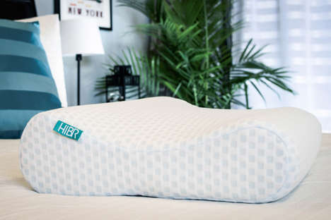 Self-Cooling Pillows - The 'HIBR Pillow' Uses Technology to Constantly Stay Cool to the Touch