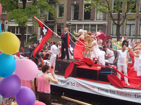 Pride Parade Live Streams - This Stream of the Amsterdam Gay Pride Parade Lets Everyone Participate