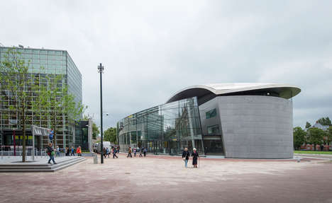 Glass-Enclosed Museum Facades - The Vincent Van Gogh Museum Will Soon Unveil Its New Spacious Foyer