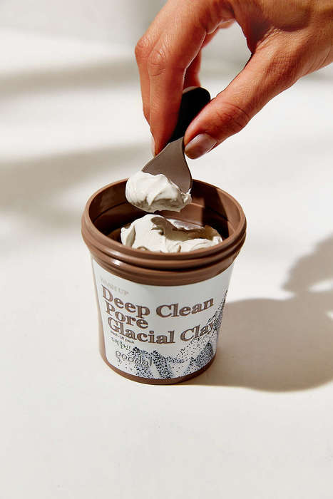 Earthy Pore Cleaners - Goodal's Glacial Clay Mask Detoxifies Pores From Dirt and Pollutants